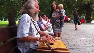 ஐღღСлавянские песни  Слово о полку Игореве. Игра на гуслях.ஐღღ