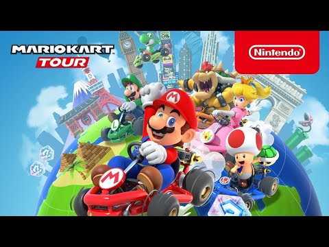 Vídeo do Mario Kart Tour