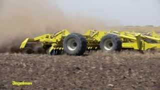 Pro-Till high performance tillage cultivator - Cage Roller