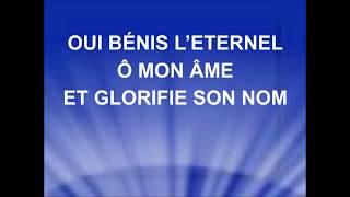 """Video thumbnail of """"BÉNIS L'ÉTERNEL Ô MON ÂME - Sans nombre sont les raisons - Stéphane Quéry"""""""
