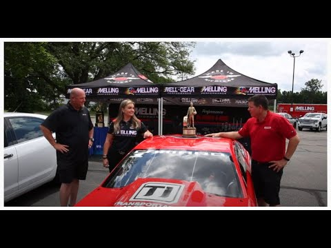 Erica Enders visits Melling and TEST DRIVES our Project Car!
