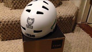 My new tsg helmet unboxing