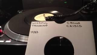 China Crisis - Wishful Thinking From 1983 ( Vinyl 45 )