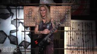 Lita Ford Guitar Lesson
