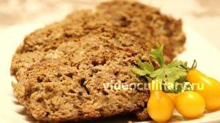 Мясной рулет с грибами - Рецепт Бабушки Эммы