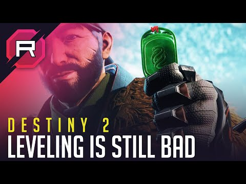 Destiny 2 Leveling is Still Bad