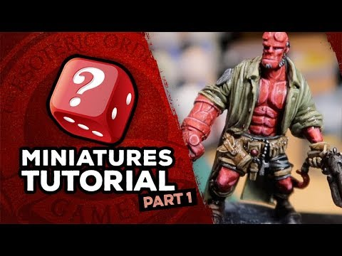 Painting Hellboy: Part 1