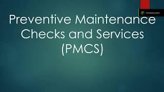 Driver's Training: PMCS Class