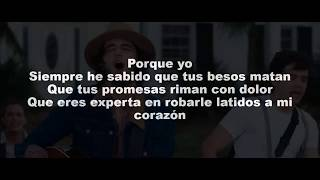 Besos En Guerra   Morat Ft. Juanes (Letra)