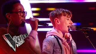 David And Ammani Perform 'Can't Stop' | The Semi Final | The Voice Kids UK 2019