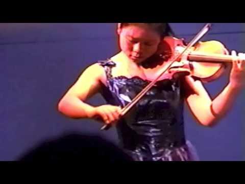 Wu Jie playing Ysaÿe Solo Violin Sonata No. 4
