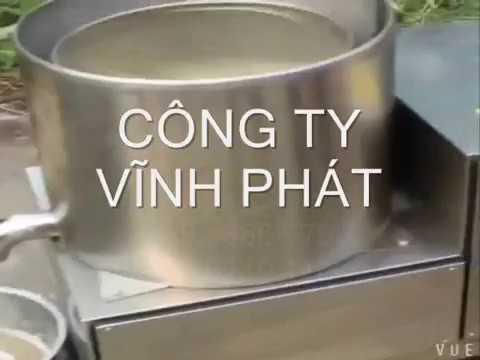 Máy ly tâm tách dầu chiên, nướng