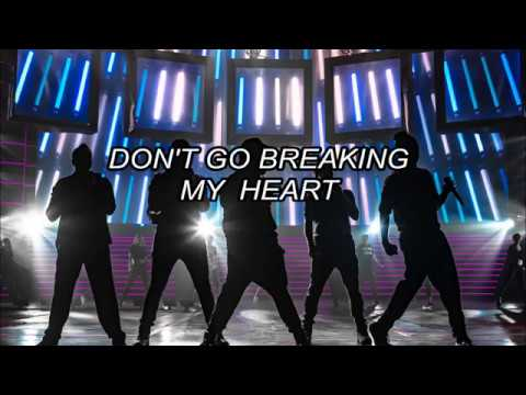 Backstreet Boys Don't Go Breaking My Heart (traducida al español) mp3