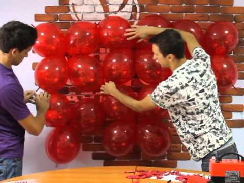 3D Сердце из шаров своими руками (Balloon 3D Heart)