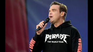 One Love Manchester   Robbie Williams' Performance 'Manchester We're Strong'
