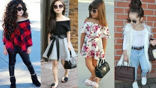 Latest Girls Kids Modern Outfit Ideas || Kids Trendy Fashion Collection 2018