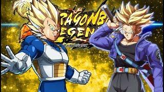 GUARANTEED SPARKING TICKET SSJ VEGETA & SSJ TRUNKS SUMMONS! Dragon Ball Legends