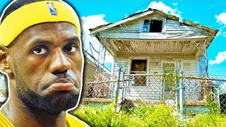 NBA Players That Came From NOTHING.. (LeBron James, Carmelo Anthony, Giannis Antetokounmpo)