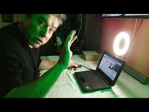 Кольцевой светодиодный видео светильник VIJIM / VIJIM LED video ring light
