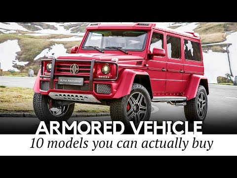 Top 10 Armored Cars And Bulletproof Limos With Custom-Made Luxury Interiors