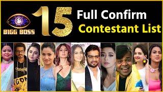Bigg Boss 15: BB15 Contestants Full List | EXCLUSIVE! Season 15 Full Contestants List