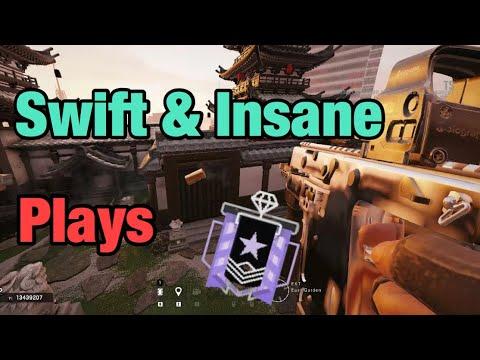 Swift and Insane Plays - Rainbow Six Siege