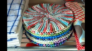 Knitting The Crazy Eights Dishcloth