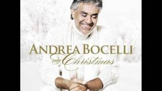Andrea Bocelli; Dios Nos Bendecira. (God Bless Us Everyone).