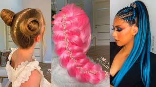 Amazing DIY Hairstyles Tutorial Compilation | Back To School Heatless Hairstyles 2020