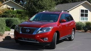 2013 Nissan Pathfinder Review And Road Test