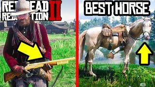 10 THINGS ALL NEW Red Dead Redemption 2 PLAYERS HAVE TO KNOW! RDR2 Tips and Tricks