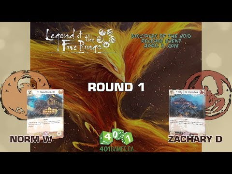 Legend of the Five Rings – Round 1 | Disciples of the Void Release Event @ 401 Games