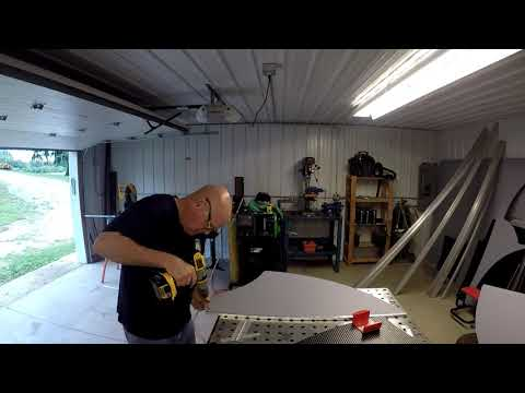 How to make an Organic Transit ELF velomobile door.