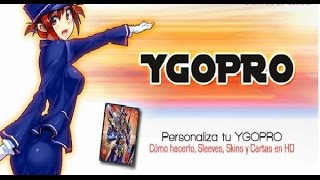 Video Skin Ygopro Sleeves Covers Pics Themes Y Cartas Anime