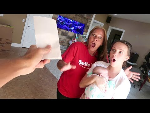 I SURPRISED THE GIRLS!!