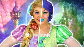 RAPUNZEL'S SURPRISE TWIN. (Can Maleficent Help Stop the Bad Clones from Taking Over?)