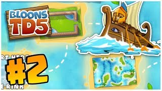 SO MANY NEW MAPS | Bloons Tower Defense 5 | BTD 5 Gameplay