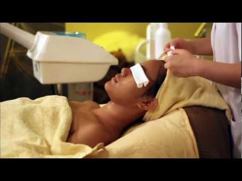 Massage para sa facial pagpapabata master klase