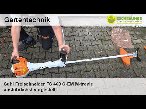 Stihl Freischneider FS 460 C-EM M-tronic ausführlichst vorgestellt