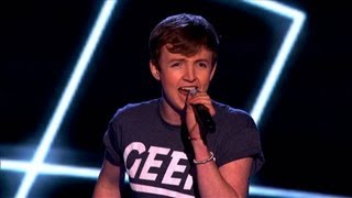 The Voice UK 2013 | Jordan performs 'I Believe In A Thing Called Love' - Blind Auditions 5 - BBC One