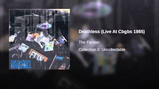 Deathless (Live At Cbgbs 1985)