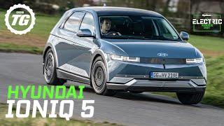 Hyundai Ioniq 5 review: 300bhp dual-motor Tesla rival tested | Top Gear