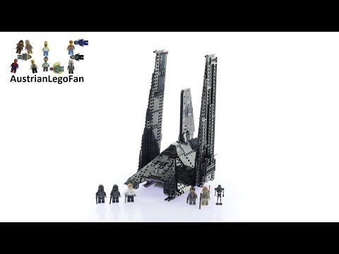 Vidéo LEGO Star Wars 75156 : Krennic's Imperial Shuttle