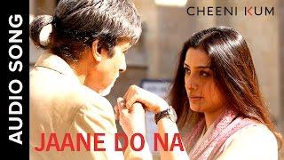 Jaane Do Na (Full AudioSong) | Cheeni Kum | Amitabh
