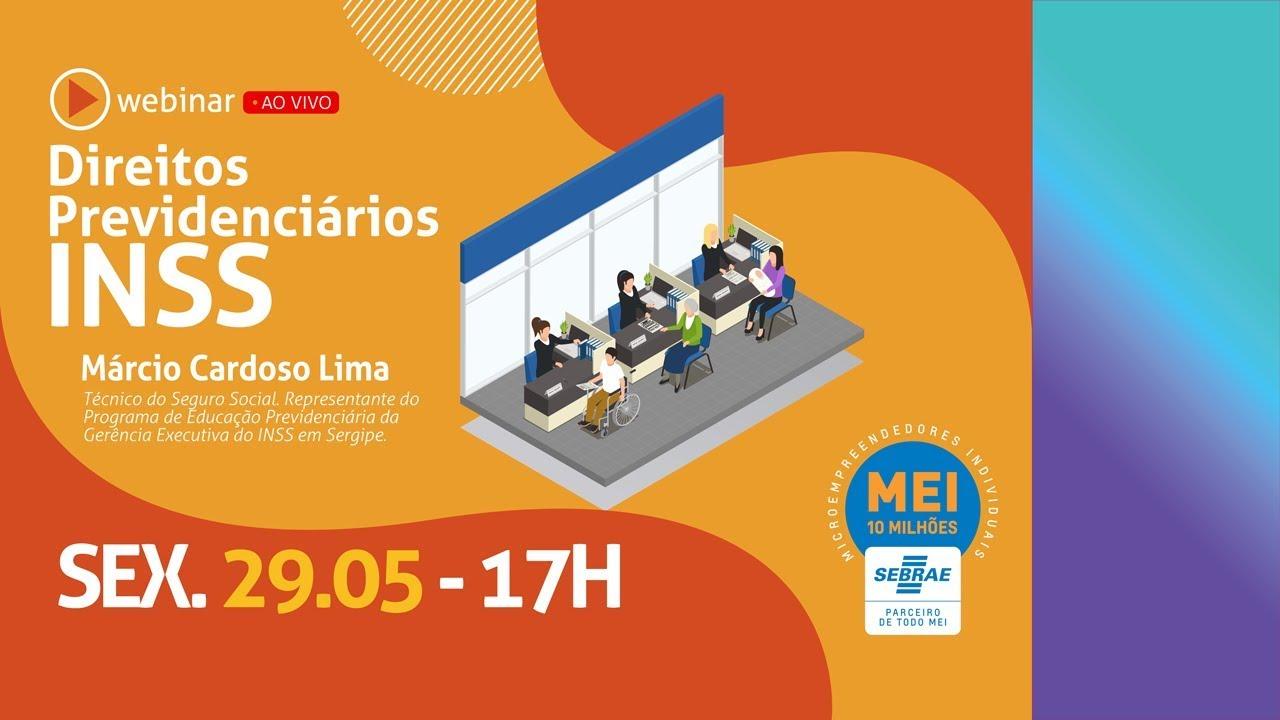 Webinar - Direitos Previdenciários/INSS (com Márcio Lima e Aurélio Viana)