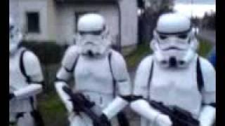 Imperiální pochod Stormtrooperů Kopřivnicí - KoprCon 2008