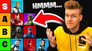 I Ranked *EVERY* Fortnite Collab! (Tier List)