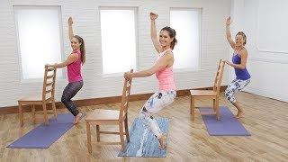 30-Minute Yoga-Barre Hybrid Workout to Empower Your Body & Mind by POPSUGAR Fitness