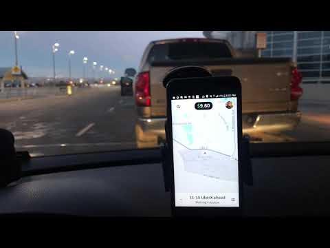 شغلي في التكسي في أمريكا  Uber