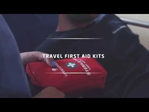 Lifesystems Travel First Aid Kits video